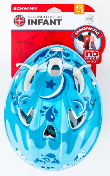 Schwinn No-Pinch Infant Bicyle Helmet