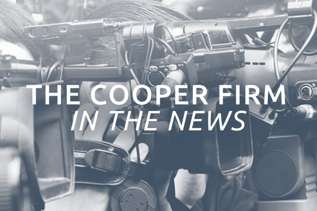 The Cooper Firm In The News
